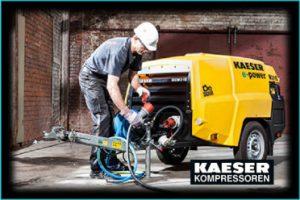 Kaeser kompressorer priser