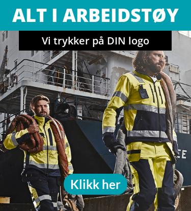 Alt i Arbeidstøy - Vi trykker på din logo - Alt i Arbeidstøy - Vi trykker på din logo