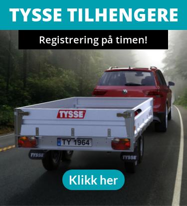 Tysse tilhengere - Registrering på timen! - Tysse tilhengere - Registrering på timen!
